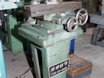 飯田鉄工  エンドミル研削盤
